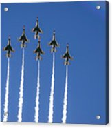Fighter Attack Acrylic Print