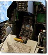 Fighter Jet Cockpit 01 Acrylic Print