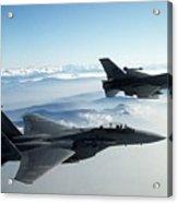 Fighter Jets Acrylic Print