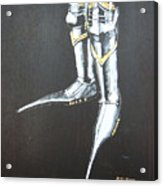 Fighting Boots Acrylic Print
