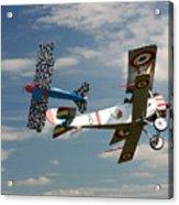Fighting Colours 2 - Fokker D. Vll - Nieuport Acrylic Print
