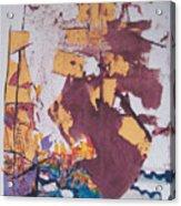 Fighting Ships Acrylic Print