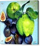 Figs And Quinces Acrylic Print