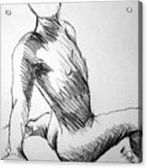 Figure Drawing 1 Acrylic Print