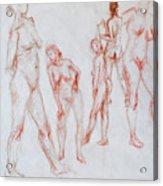Figure Five Acrylic Print