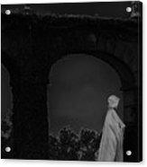 Figure In The Night Acrylic Print