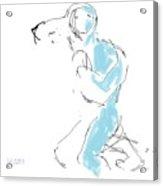 Figure/man Acrylic Print