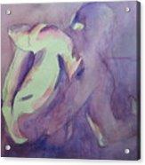 Figure Of The Artist  27 Acrylic Print