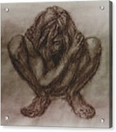 Figure.03 Acrylic Print by Terrell Gates