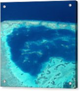 Fiji Aerial Acrylic Print