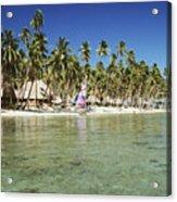 Fiji Resort Acrylic Print