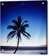 Fiji Sunset Acrylic Print