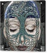 Fildais Celtic Goddess Acrylic Print