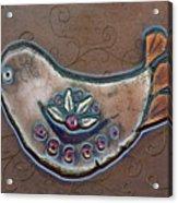 Filigree Bird Acrylic Print