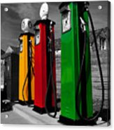 Fill Her Up Acrylic Print