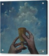 Fill My Cup Lord Acrylic Print
