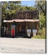 Fill'er Up Acrylic Print