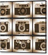 Film Camera Proofs 2 Acrylic Print by Mike McGlothlen