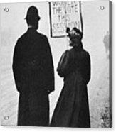 Film Still: Suffragette Acrylic Print