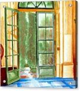 Filoli Tea House Acrylic Print