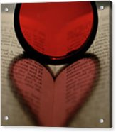 Filter Heart 2 Acrylic Print