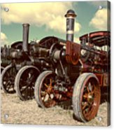 Filtered Steam  Acrylic Print