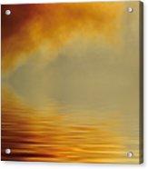 Filtered Sun Acrylic Print