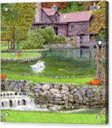 Fin N Feather At Seven Springs Acrylic Print