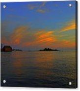 Final  Light Over  Gloucester Acrylic Print