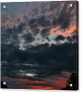 Final Sunset Fling Acrylic Print