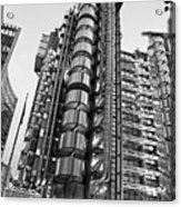 Finance The Lloyds Building In The City Acrylic Print