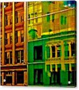 Financial District Acrylic Print