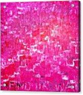 Find Ur Way Acrylic Print