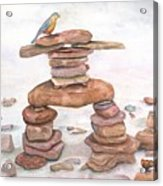 Finding Balance Acrylic Print
