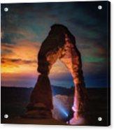 Finding Heaven Acrylic Print