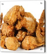 Fine Art Fried Chicken Food Photography Acrylic Print