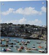 Fine Art - St Ives Harbour Acrylic Print