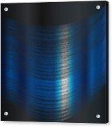 Fine Blue Thread Acrylic Print