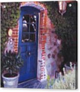 Fine French Restraunt French Laundry With Rosemary Acrylic Print