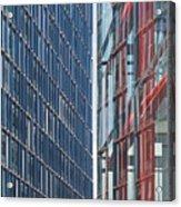 Fine Line Between Buildings Acrylic Print