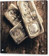 Fine Silver 999 Acrylic Print