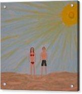 Fine Sunny Day Acrylic Print