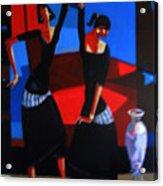 Finger Dance Acrylic Print