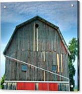 Finger Lakes Barn Iv Acrylic Print by Steven Ainsworth