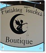 Finishing Touches Boutique Acrylic Print