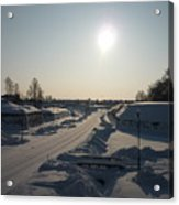 Finland Fortress Acrylic Print