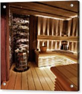 Finnish Sauna Acrylic Print
