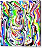 Finny Acrylic Print
