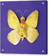 Fiona Butterfly Acrylic Print