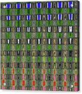 Fir Tree Forest Abstract #7215wt Acrylic Print